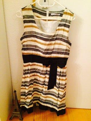 Kleid Streifenkleid 50ies Kleid