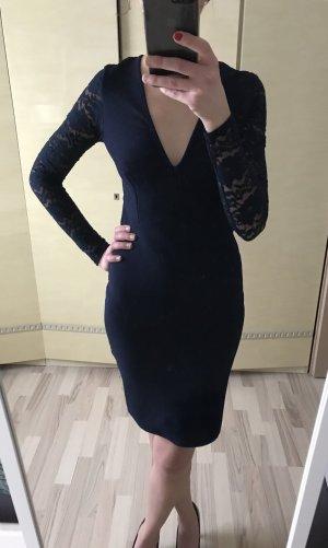 Kleid Stretch gr.36 marineblau