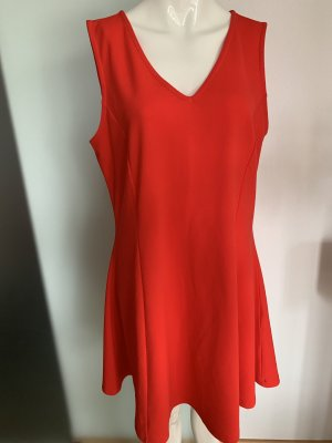 Yessica Empire Dress red