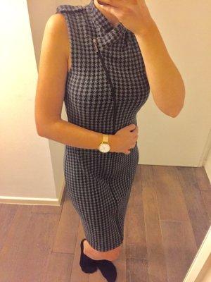 Kleid Stretch länger Reisverschluss Klassik tailliert weicher Stoff Abendkleid