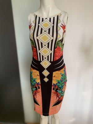 Bodyflirt Stretch jurk veelkleurig