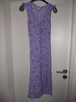 Kleid Streublumenmuster lila Gr. 36/38