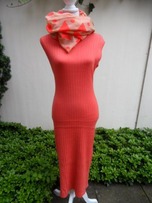 Kleid Strick Gr. 36 Orange