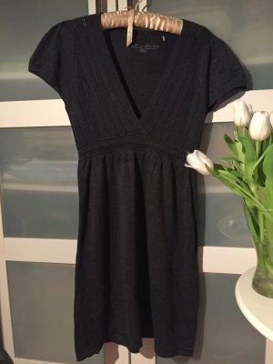 Kleid Strickkleid anthrazit