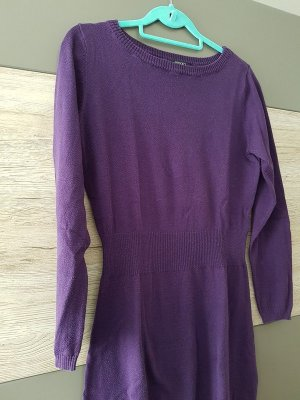 Kleid, Strickkleid in lila, Gr. 40/M