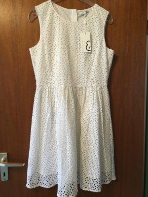 Kleid süß weiß mint&berry Gr. 40 NEU mit Etikett
