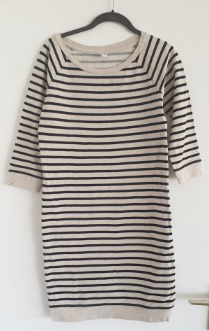 de.corp by Esprit Sweat Dress black-natural white