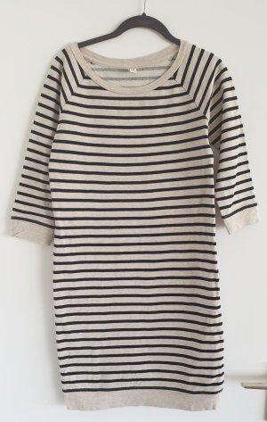 de.corp by Esprit Sweat Dress black-natural white