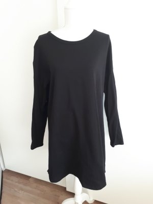 H&M Robe Sweat noir
