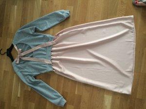 Kleid SweatshirtKleid Topshop Größe 38 grau rosa
