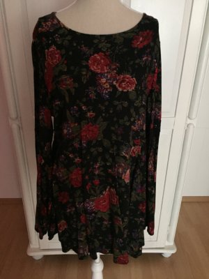 Kleid Swing-Dress mit Rosen