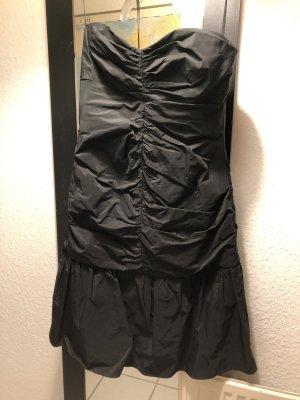 Swing Vestido bustier negro