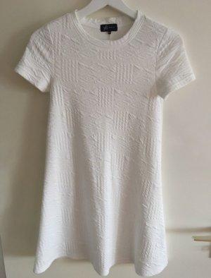 Kleid T-Shirtkleid weiß Neu S 36 kurz