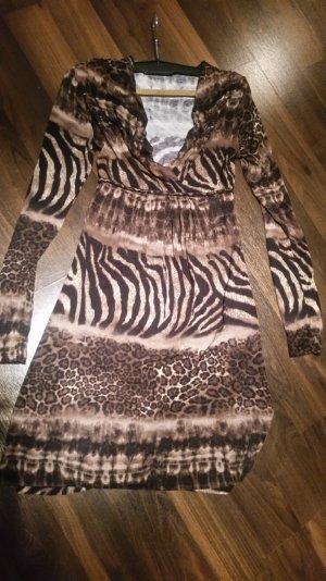 Kleid Tigermuster 38
