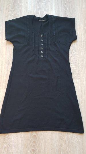Tom Tailor Vestido de lana negro