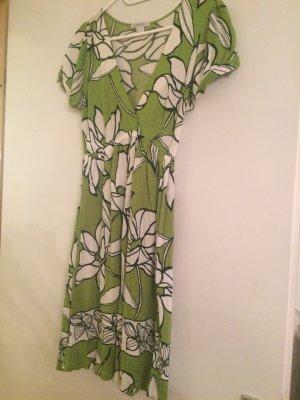 Kleid Top toll über Leggings mit Blumenprint