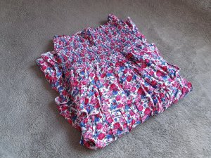 Madonna Babydoll Dress multicolored cotton