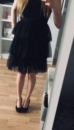 Kleid trägerlos, s, schwarz