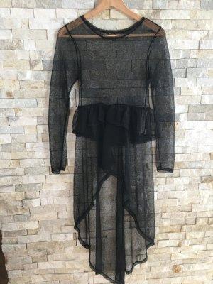 Kleid Transparent schwarz neu ohne Etikett