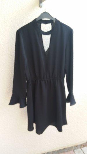 Vestido línea A negro