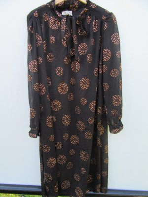 Kleid true Vintage Retro Gr. L schwarz Made in England