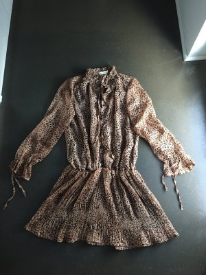 Tunic Dress light brown-brown