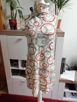 Xanaka Tunic Dress cream-brick red