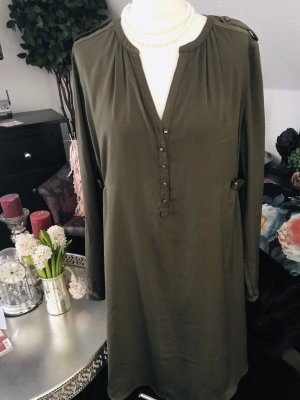 H&M Tunic Dress dark green