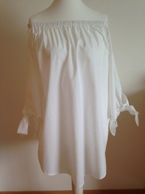 Kleid, Tunika, in Weiß, Gr.L