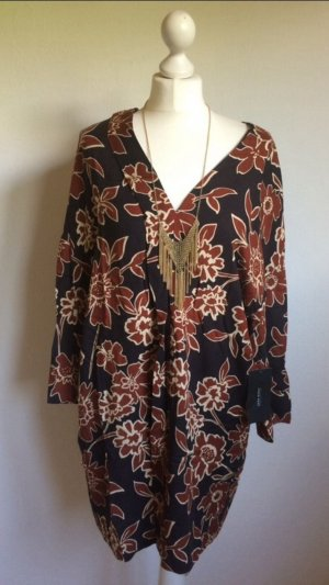 Zara Basic Robe tunique multicolore viscose