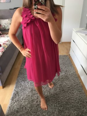 Kleid Tunika pink brombeere 34/36 S Rare London