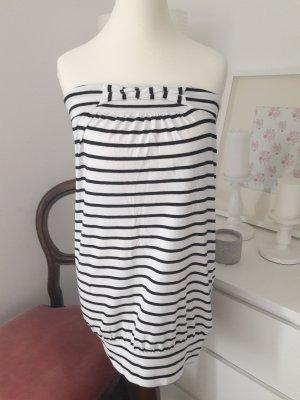 Kleid / Tunika schwarz weiß