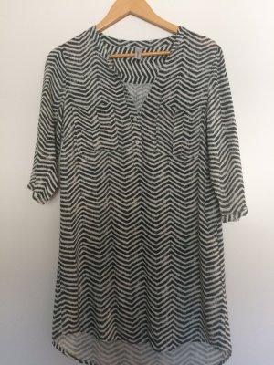 Kleid / Tunika Schwarz_Weiß Größe S