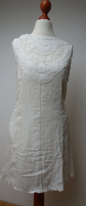 Shirt Tunic white cotton
