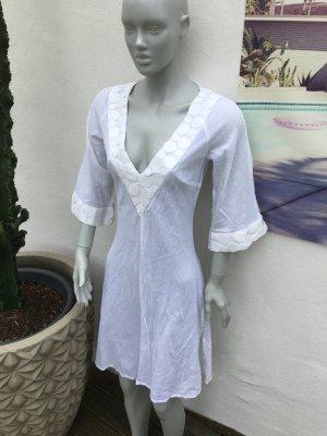 Zara Tunic Dress white-natural white