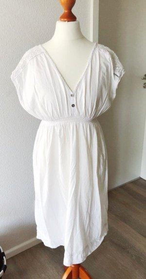 Garcia Robe Hippie blanc coton