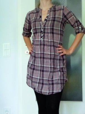 Kleid Tunika zum Binden M auch für S lange oder kurze Ärmel