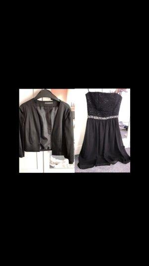 Kleid und Blazer