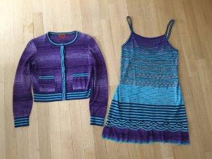 Kleid und Strickjacke von Missoni, Gr 36