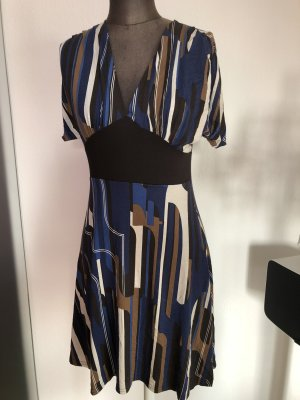 Kleid V-Ausschnitt Tunika Flügel Arm Gr 36 38 S Xanaka