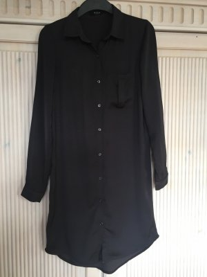 Vila Abito blusa camicia antracite-grigio ardesia