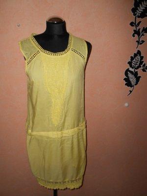 Kleid Vila Spitze Gelb Gr. S
