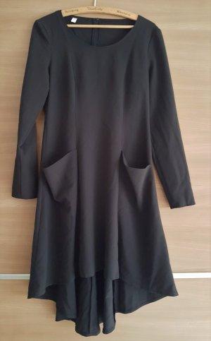 Kleid Vokuhila Schwarz Gr. 40