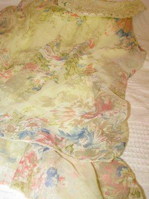 Robe Babydoll multicolore tissu mixte