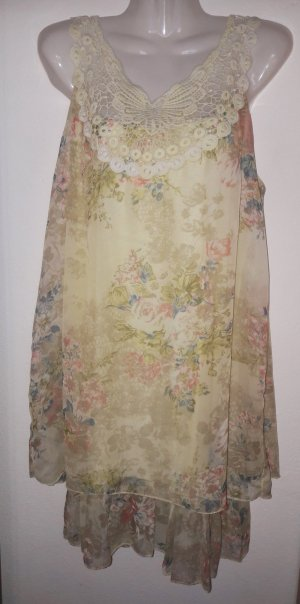 Babydoll Dress multicolored mixture fibre