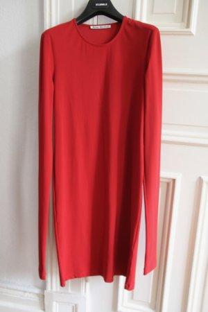 Acne Longsleeve Dress brick red