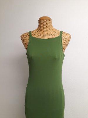Adagio Stretch jurk grasgroen