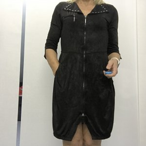 Airfield Longsleeve Dress black