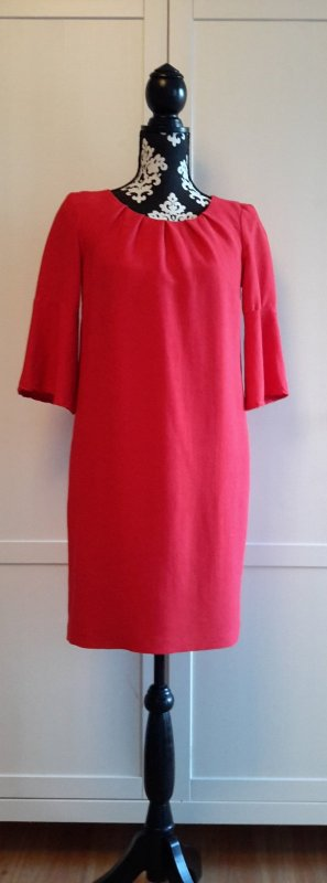 Alba Moda Dress red-neon red