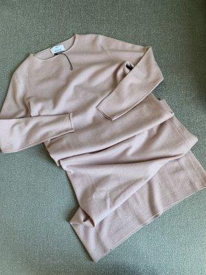 Allude Vestito di lana rosa